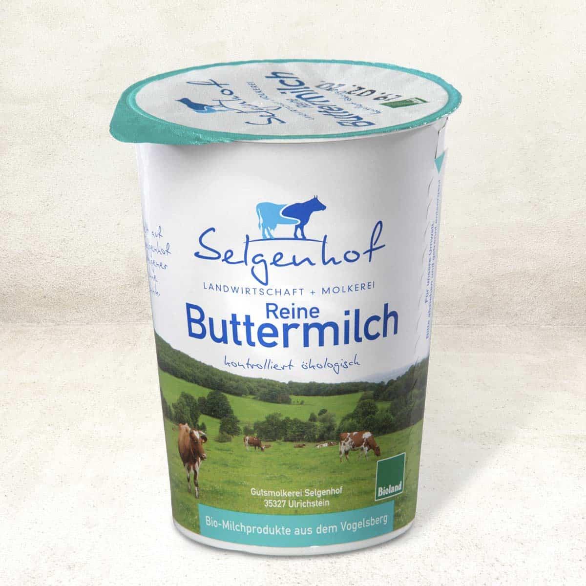 Bio-Buttermilch