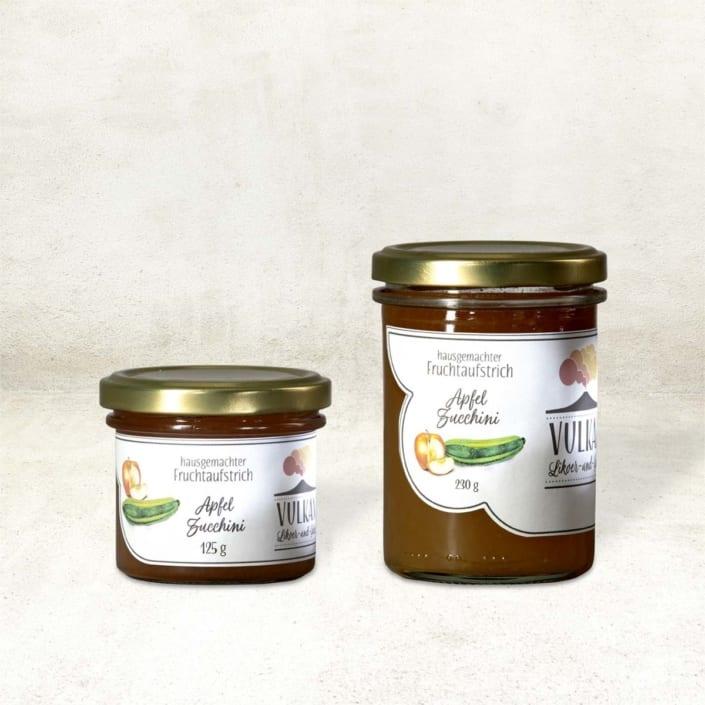 Fruchtaufstrich Apfel-Zucchini
