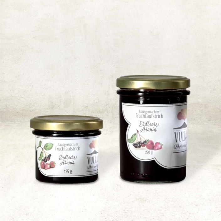 Fruchtaufstrich Erdbeere-Aronia