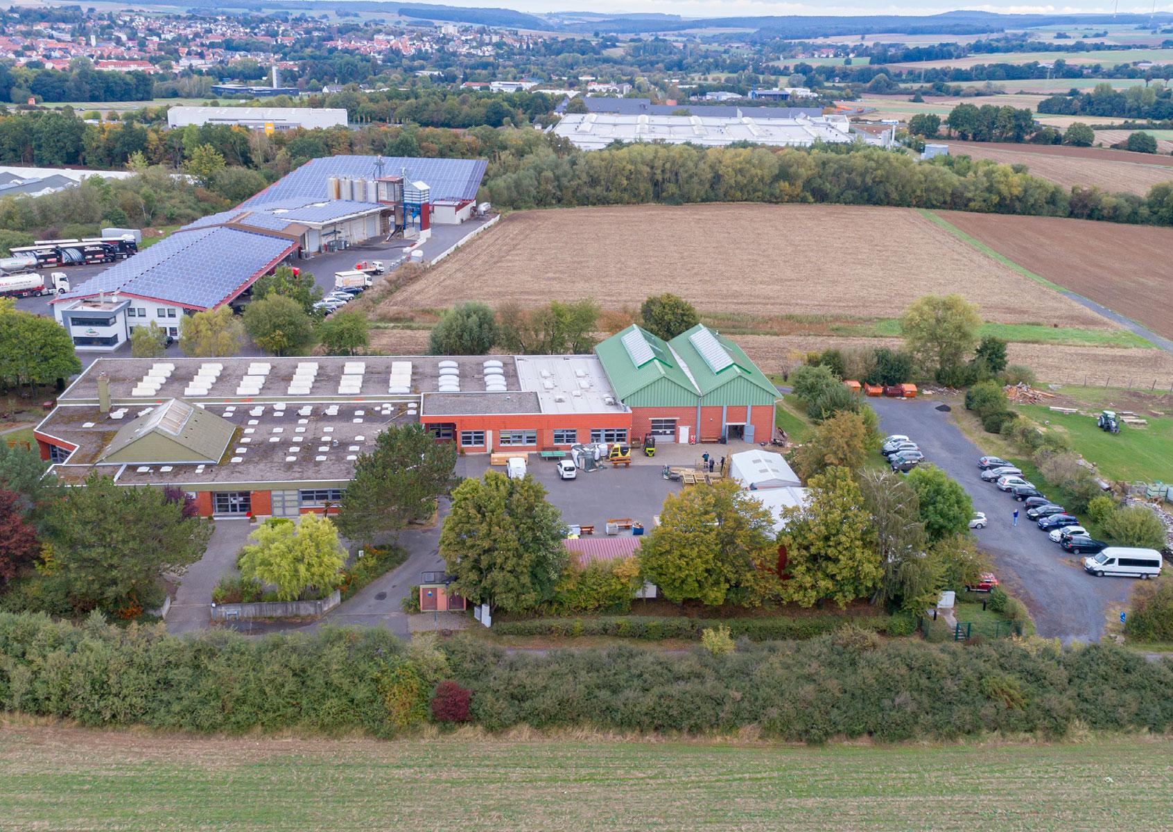 Luftbild Standort Alsfeld