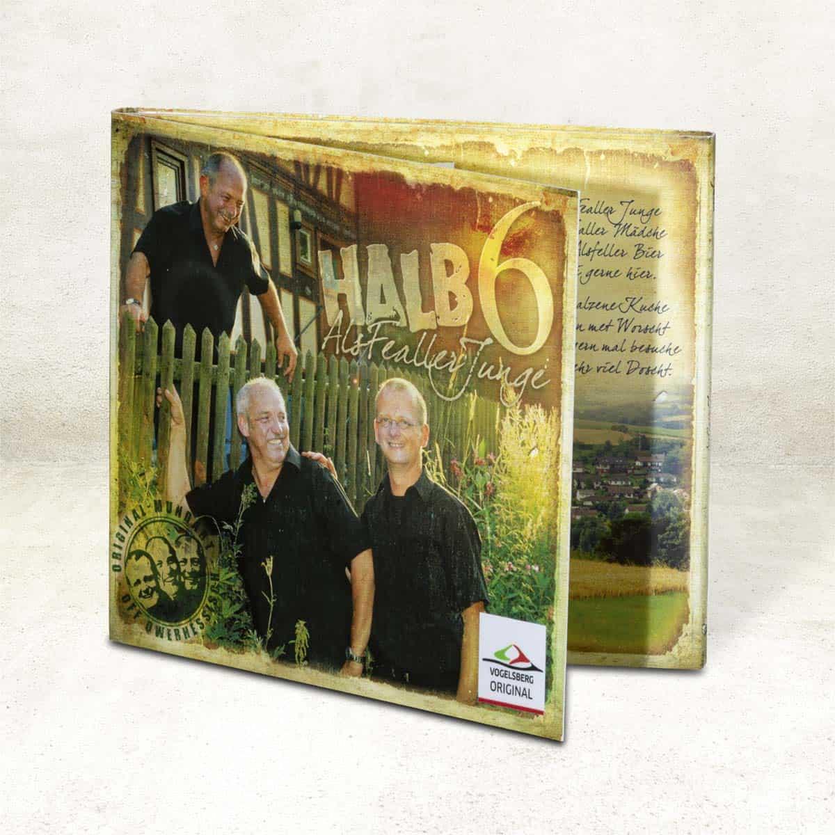 """CD: Vogelsberger Mundart von """"Halb6"""""""