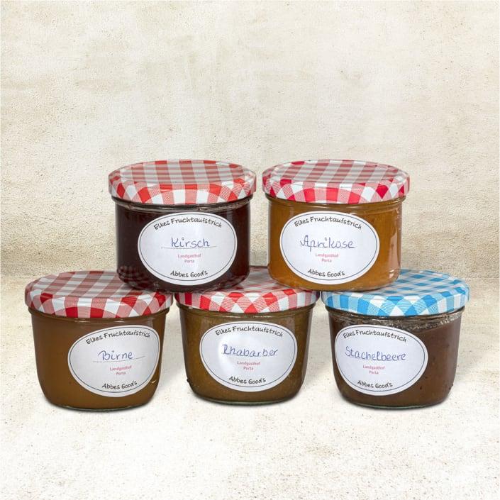 Marmelade und Gelees