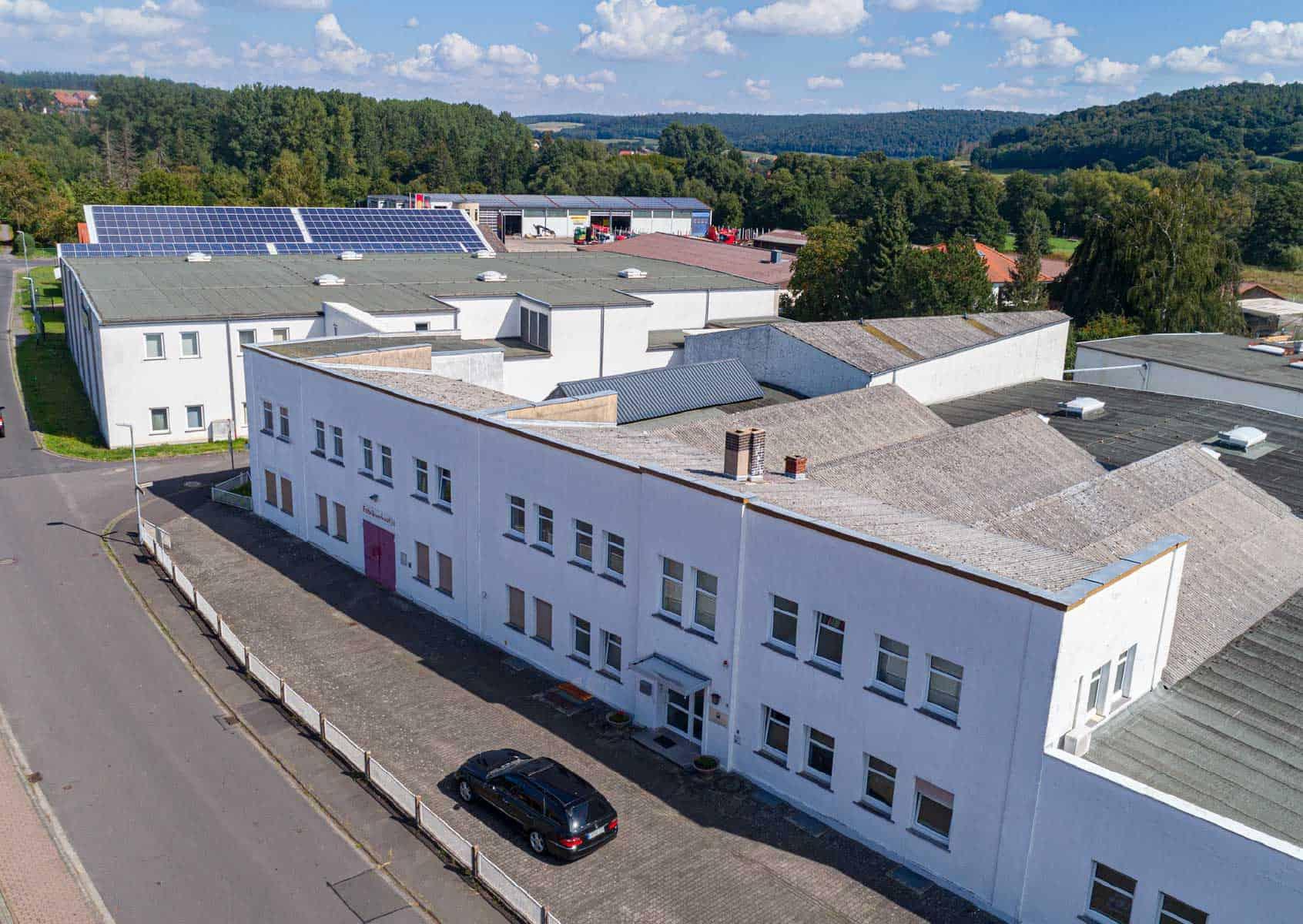 Firmengebäude Driessen Leinen