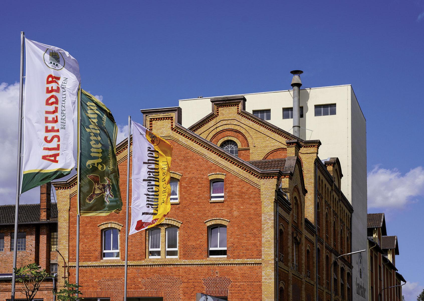 Das Brauereigebäude