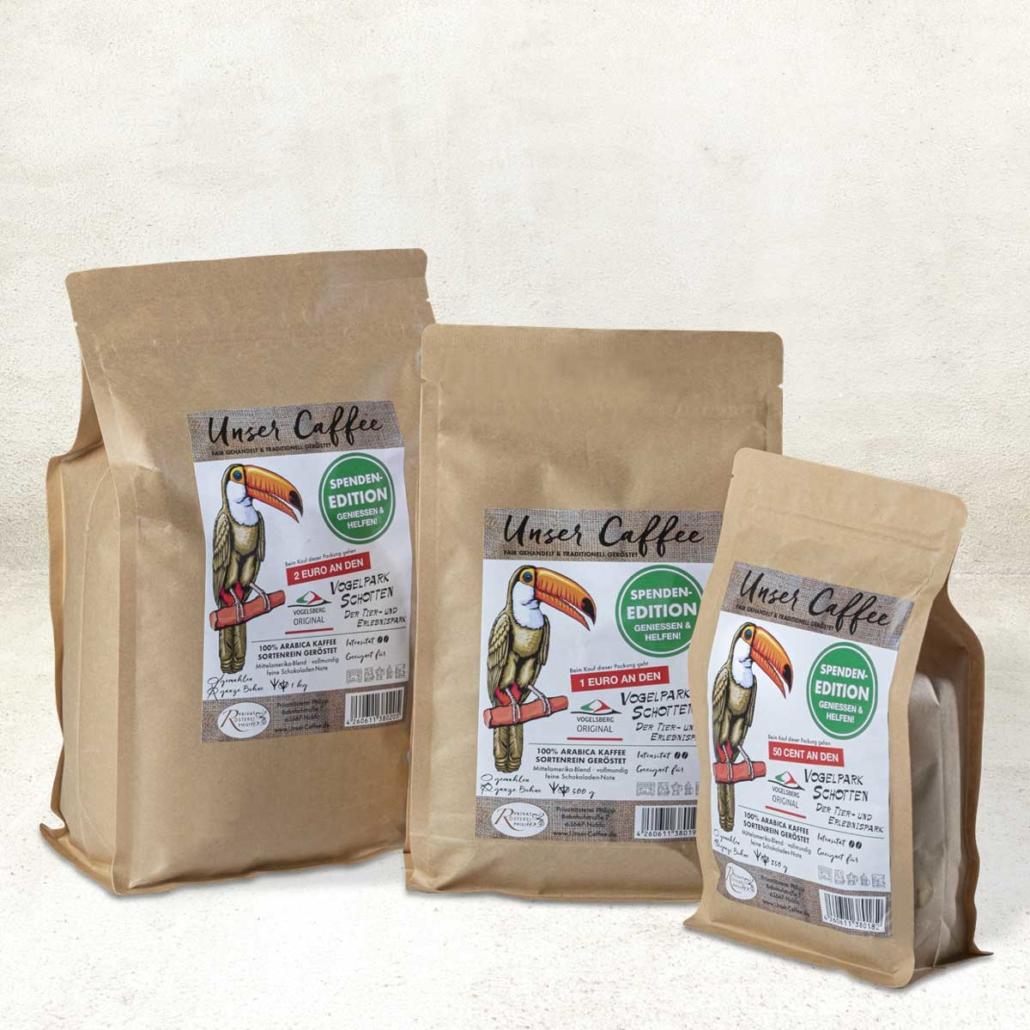 Unser Caffee - Spendenedition Vogelpark