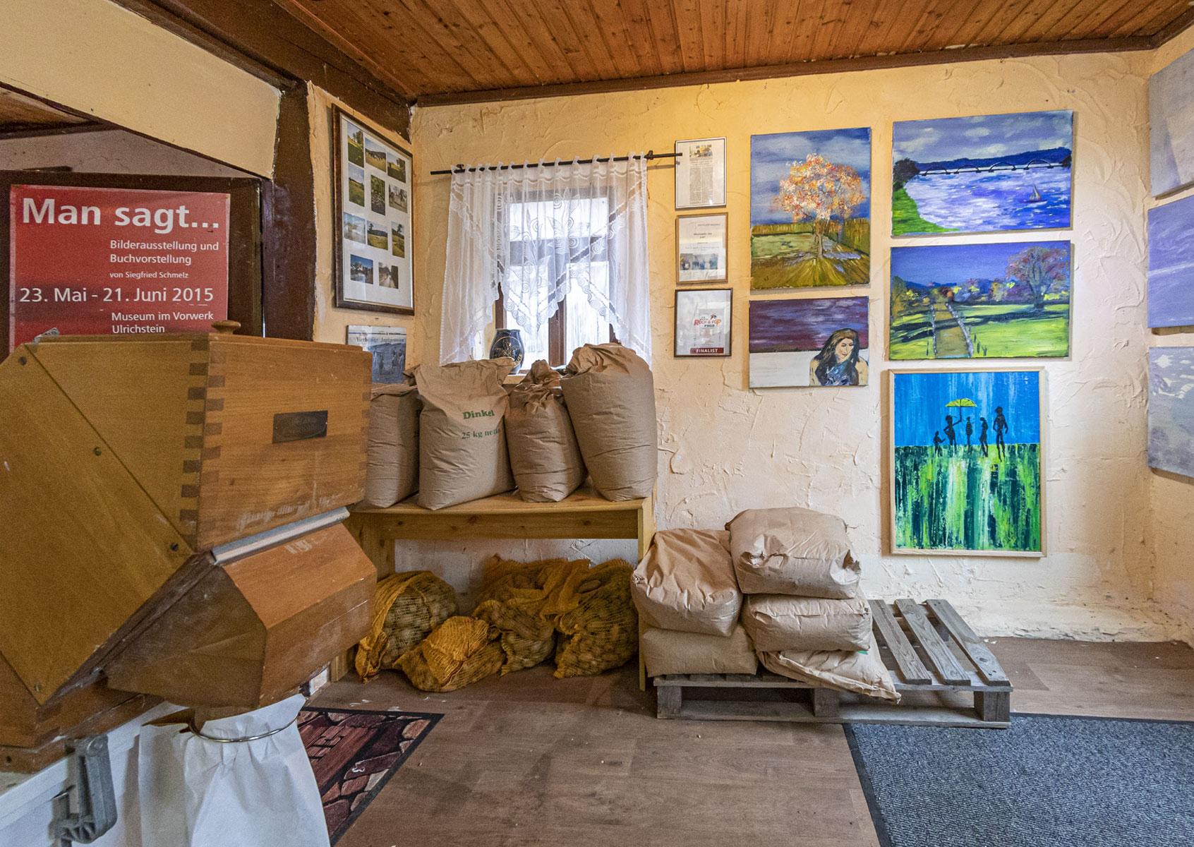 Kunst und Körner - Das Mehllager