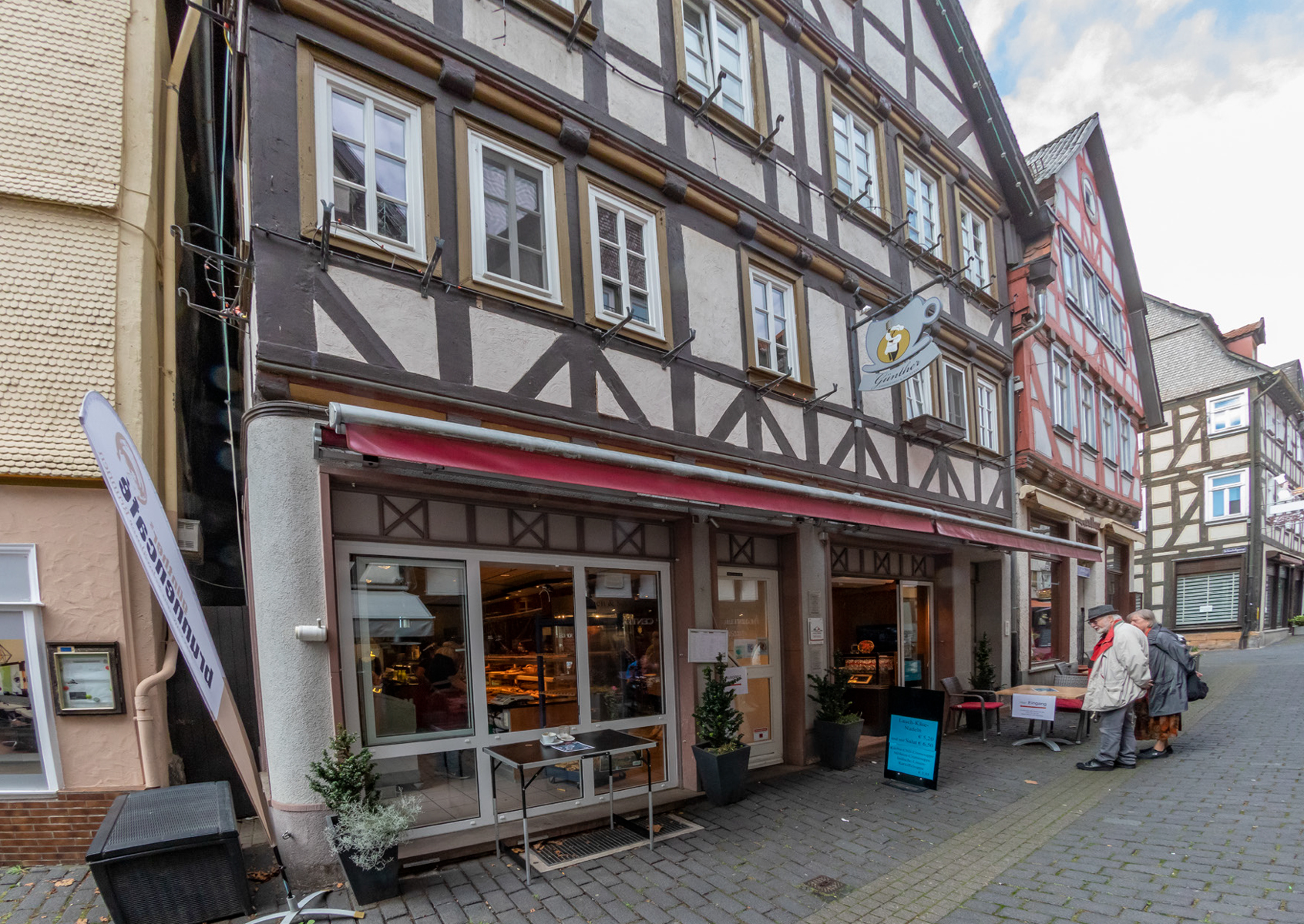 Ladengeschäft Bäckerei Günther