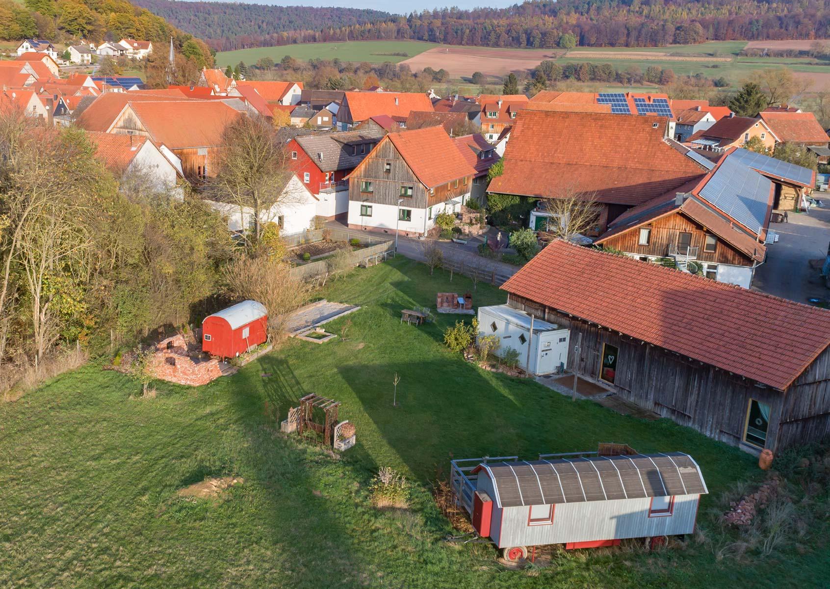 Luftbild Hof Haennesse