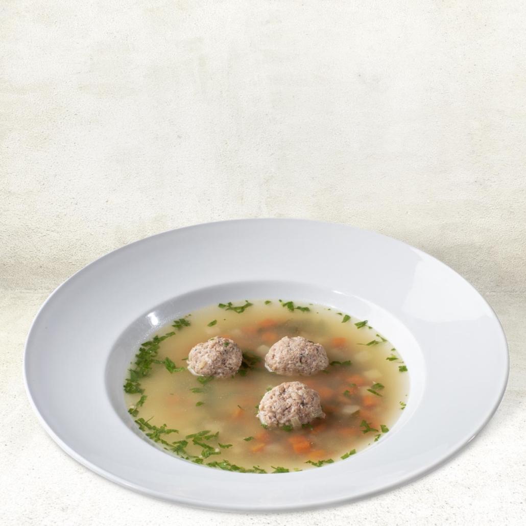 """Woschtsupp"" (Wurstsuppe)"