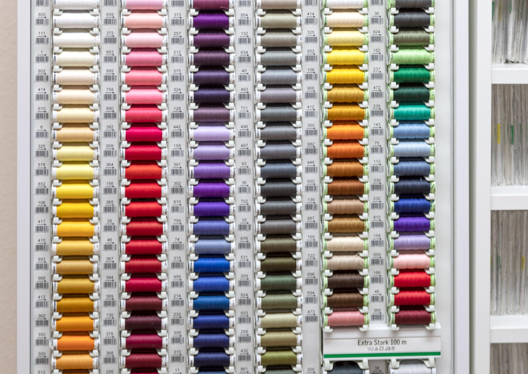 Garne in allen Farben